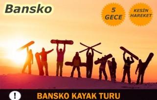 Bansko Kayak Turu Otobüs ile 5 Gece