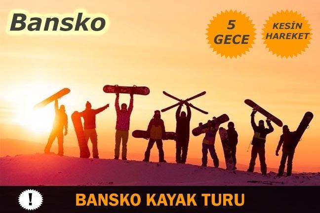 Bansko Kayak Turu Otobüs ile 5 Gece: Bansko Kayak Turu, Lüks Otobüsler ile 5 Gece 6 Gün Pistlere Sıfır konumdaki otellerde konaklamalı Kesin kalkışlı ve TOUR BEMOL güvencesiyle kayak turu